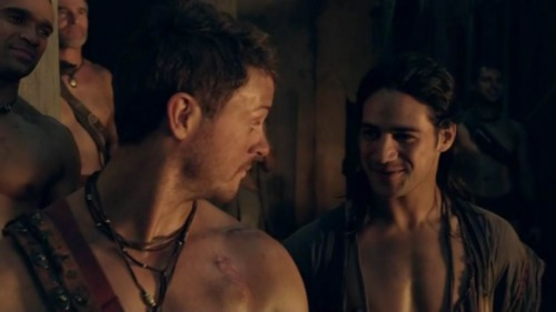 Spartacus tv series gay